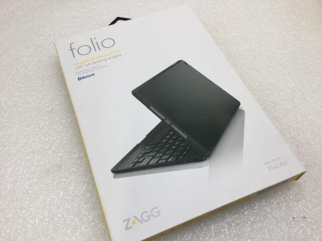 6e1d91f6cb9 ZAGG Keys iPad Air 1 Black Folio Full Body Case & Backlit Keyboard ...