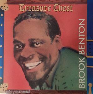 Brook-Benton-Treasure-Chest-CD-1988-PolyGram-RARE-OOP-MINT-10-10