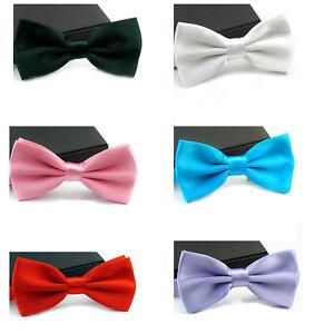 Hombre-Tuxedo-Clasico-Ajustable-Corbata-Fiesta-pajaritas-Regalos-boda-Corbatas