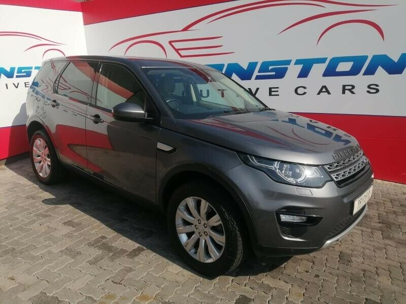 2017 Land Rover Discovery Sport 2.2 Sd4 Hse At