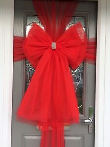 Image is loading Luxury-Standard-and-Deluxe-Christmas-Door-Bows & Luxury Standard and Deluxe Christmas Door Bows | eBay pezcame.com