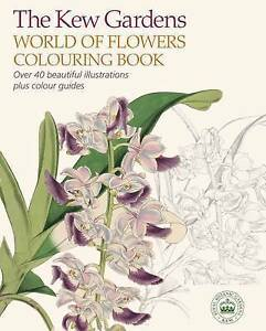 The-Kew-Gardens-World-of-Flowers-Colouring-Book-by-Gardens-Kew-Paperback-book