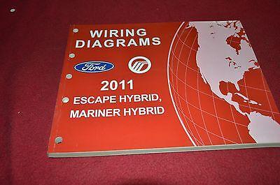 Ford Escape Hybrid Mercury Mariner Hybrid 2011 Wiring ...