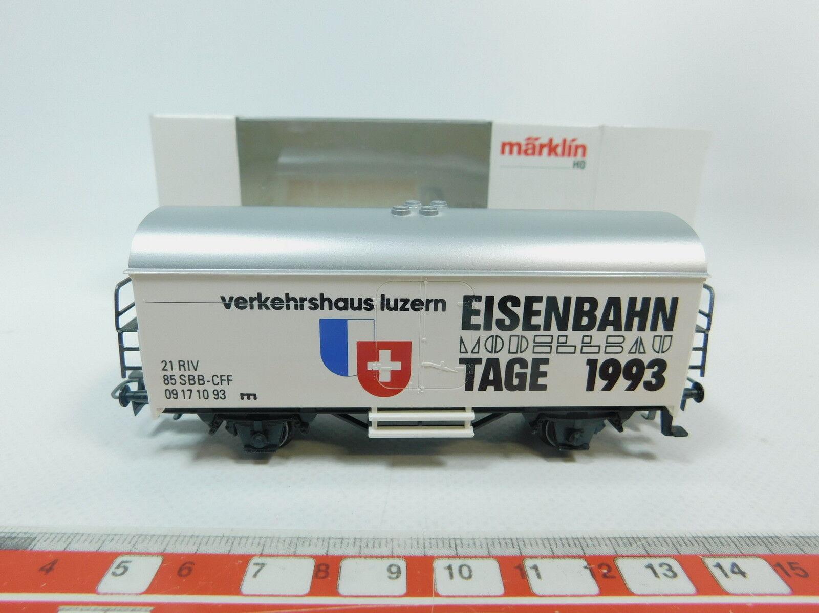 AT14-0,5Märklin H0 AC Somo Freight car Modelmaking Day 1993 Lucerne SBB, NIP