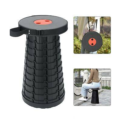 US Portable Chair Telescopic Folding Stool Camping Fishing for Collapsible
