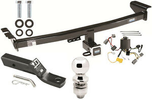 complete trailer hitch package w wiring kit fits 2005. Black Bedroom Furniture Sets. Home Design Ideas