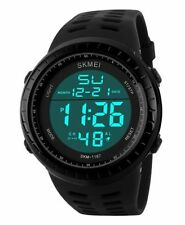 SKMEI Men's SK1167B Outdoor Sports Big Face Digital Display Waterproof Electr...