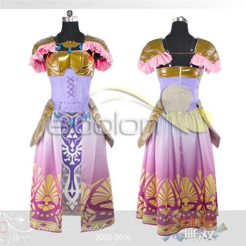 The Legend of Zelda - Princess Zelda Dress Cosplay Costume Customized