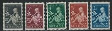 1938 Nederland TG Kinderzegels NR.313-317  postfris mooie serie!
