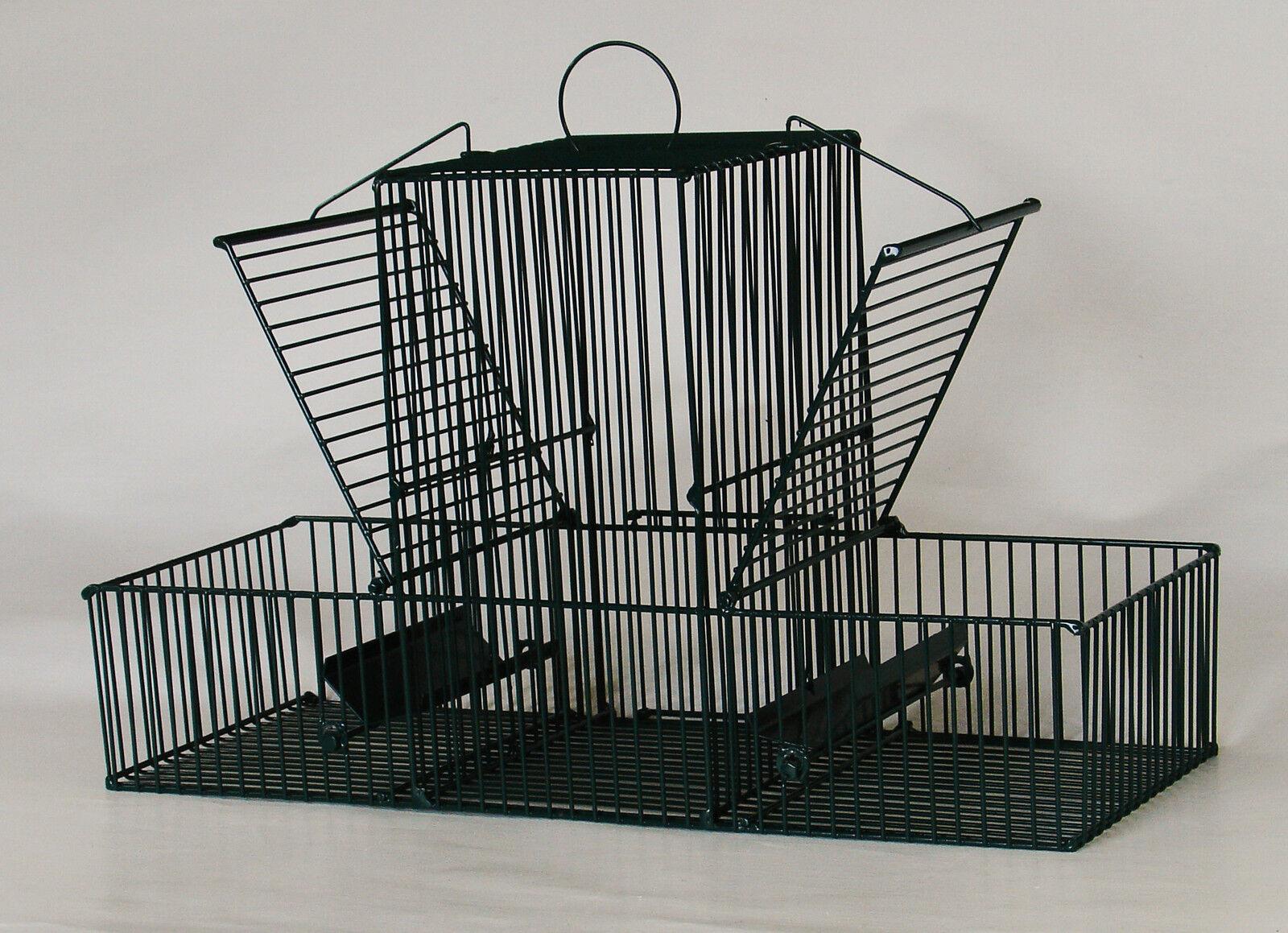 Pájaro trampa con lockvogelabteil y 2 fangabteilen - @ @ @heka  1x Art. 85072