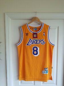 NWT Kobe Bryant #8 LA Lakers Hardwood Classics Throwback Swingman ...