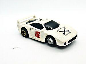Tyco Ferrari F-40 White #13 Nice