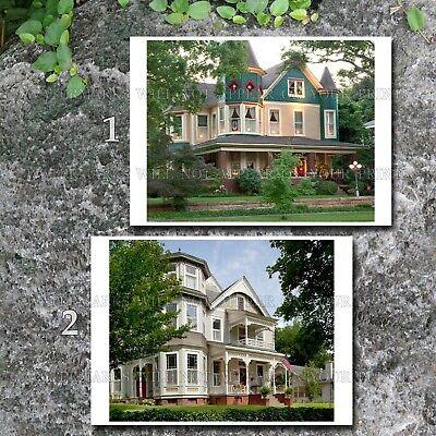 Victorian homes Sheffield Alabama AL 2 photos lot CHOICE 5x7s or request 1 8x10