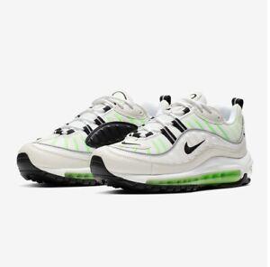 air max 98 blanc vert