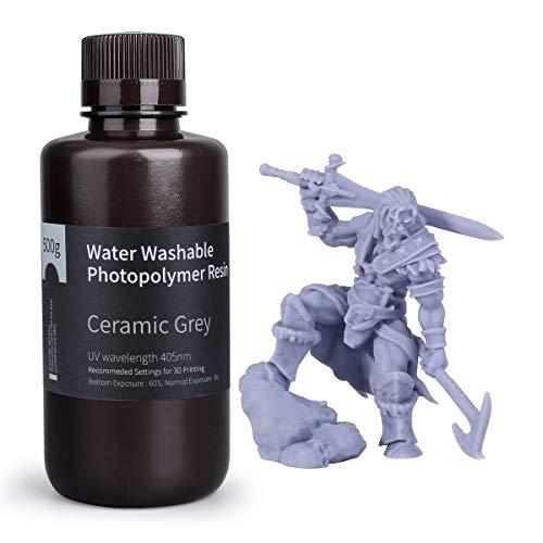 ELEGOO Water Washable 3D Printer Rapid Resin LCD UV-Curing Resin 405nm Standard