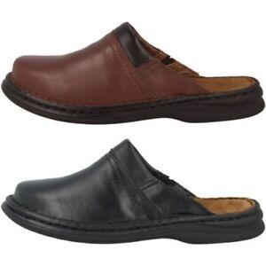 05592acca50 La imagen se está cargando Josef-Seibel-Max-Zapatos-Zuecos-Hombre -Zapatillas-de-