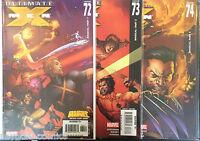 Ultimate X-Men #72-74 Set Magical Parts 1-3 VF+ 1st Print Free UK P&P Marvel