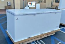 New 77 Solid Top Lock Chest Freezer Storage Cabinet Nsf Etl Commercial Xf 750