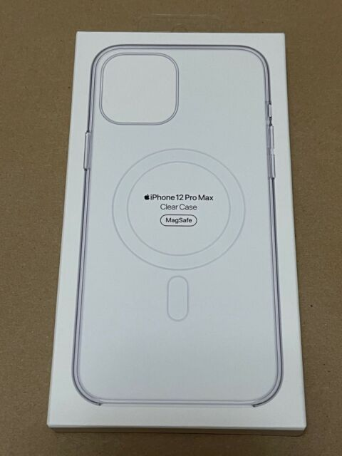 NEW APPLE iPHONE 12 PRO MAX CLEAR CASE MAGSAFE MHLN3ZMA OEM GENUINE APPLE FAST!