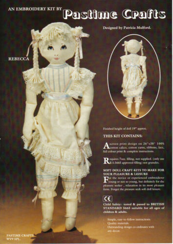 "Kit couture poupée /""Rebecca/"""
