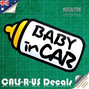 Baby-in-Car-Bottle-Family-Safety-Kid-Nursery-Reflective-Car-Vinyl-Decal-Sticker