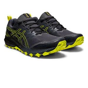 Asics Homme Gel Trabuco 9 Trail Chaussures De Course Baskets Sneakers Noir Sport