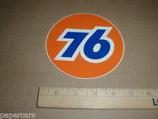 Vintage 1970s Union 76 Gas Oil Carmenita California Sticker Transfer Decal