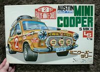AUSTIN MINI COOPER S MK II RALLY TYPE 1/16 BIG MODEL KIT LS JAPAN