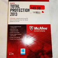 Sealed Mcafee Mtp13emb1raan Total Protection 2013 1pc