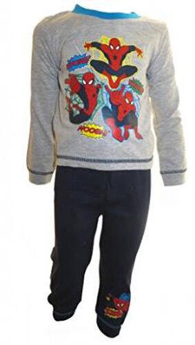 Boys Spiderman Pyjamas Nightwear Superhero 18months-5yrs Pyjama Set FREE UK P/&P