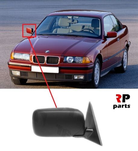 BMW 3 E36 COUPE CABRIO 90-96 WING MIRROR ELECTRIC HEATED 4 PIN PRIMED RIGHT LHD