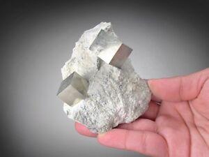 Pyrite-Crystals-in-Matrix-Navajun-La-Rioja-Spain