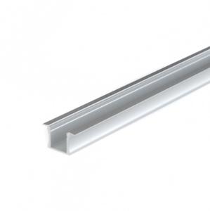 Set Profilo Alluminio LED  Incasso Alto CC31 Strip 12mm Tappi Cover e Ganci
