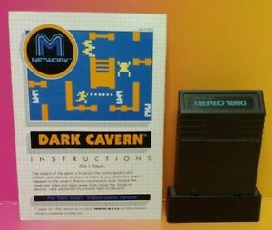 Atari-2600-Dark-Cavern-Game-amp-Instruction-Manual-Tested-Works-Rare
