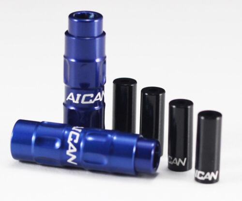 Aican light Bike Inline Barrel Index Cable adjuster shift vs Jagwire Shimano