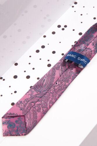Childrens Pink Paisley Tie Elasticated Pre-tied Tie Neckwear Boys Accessory