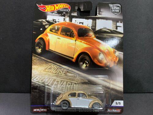 Hot Wheels Volkswagen Clásico Bug Crucero Boulevard FPY86-956M 1//64