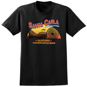 Santa Carla Lost Boys Inspired T-shirt - Retro Film Movie Vampire Tee Shirts