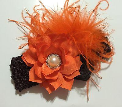 Thanksgiving //Fall //Autumn Vintage Newborn//Baby//Toddler//Girl Headband