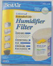 HUMIDIFIER FILTER BEST AIR FOR: HOLMES/HONEYWELL/GE/BIONAIRE/WHITE WESTINGHOUSE