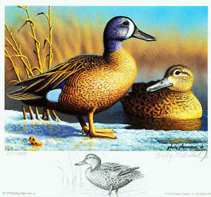 MD36-2009-DUCK-PRINT-Remarqued-by-Wally-Makuchal