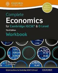 complete economics for cambridge igcse o level workbook by cook rh ebay co uk