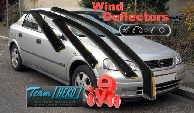 OPEL ASTRA G MK 4 1998 - 2003 SALOON  / HB 5D Wind deflectors  4.pc  HEKO  25336
