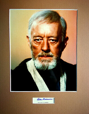 A New Hope 8x10 Official Photo ALEC Guiness as OBI-Wan Kenobi in Star Wars Star Wars Authentics