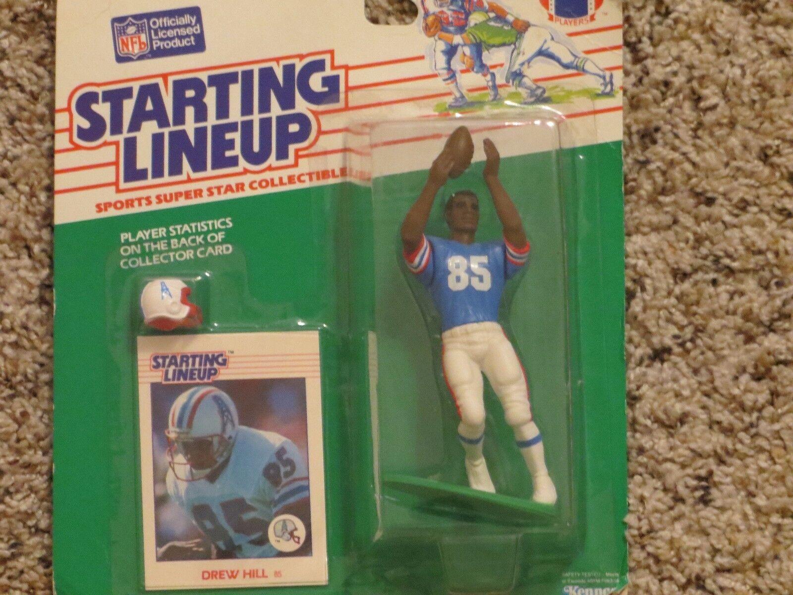 1988  Drew Hill SLU football figure Houston Houston Houston Oilers  Warren Moon 51b6dd