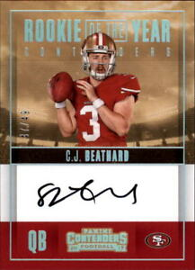 2017-Panini-Contenders-Rookie-of-the-Year-Autograph-Singles-Pick-Your-Cards
