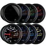 GlowShift Tinted 7 Color 100 PSI Boost Gauge GS-T701/_100
