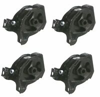 Honda Prelude 1992-1996 Engine Motor Mount Set Of 4 For Manual Transmission