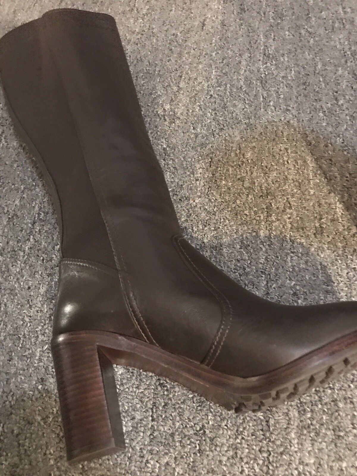 Tory Burch Women's Brown Brown Brown Sullivan Boots size 10.  Retailed For  450.00 c0abb1