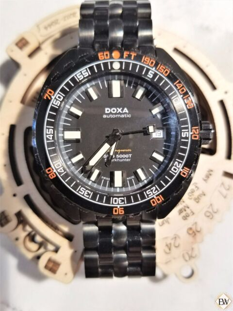 DOXA SUB 5000T Seaconqueror Sharkhunter Military Edition Diving Watch Limited